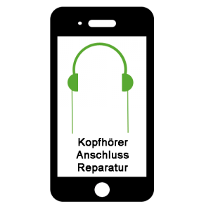 Kopfhörer-Anschluss-Reparatur